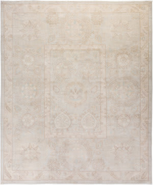 Solo Rugs Silky Oushak M1898-50  Area Rug