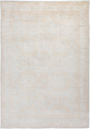 Solo Rugs Silky Oushak M1898-58  Area Rug