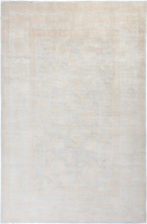 Solo Rugs Silky Oushak M1898-60  Area Rug