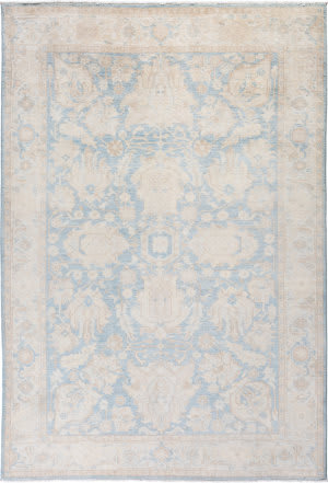 Solo Rugs Silky Oushak M1898-65  Area Rug