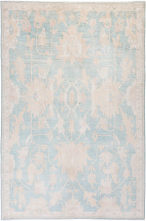 Solo Rugs Silky Oushak M1898-71  Area Rug