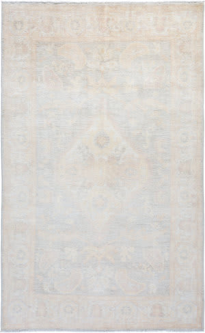 Solo Rugs Silky Oushak M1898-79  Area Rug