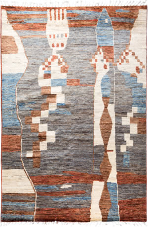 Solo Rugs Moroccan M1900-153  Area Rug