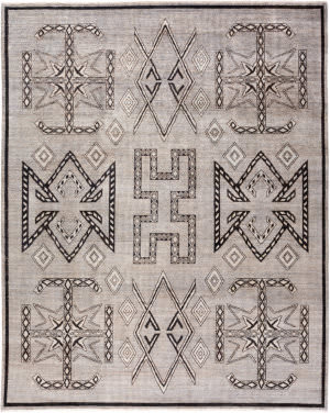 Solo Rugs African M1900-90  Area Rug