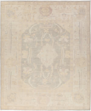 Solo Rugs Silky Oushak M1909-10  Area Rug