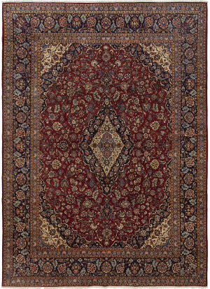 Solo Rugs Kashan M5540-15182  Area Rug