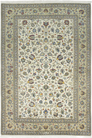 Solo Rugs Kashan M6030-17828  Area Rug