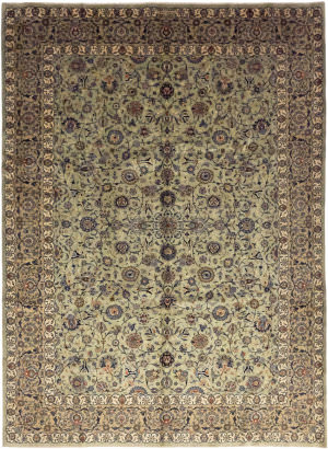 Solo Rugs Kashan M6085-21924  Area Rug
