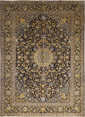 Solo Rugs Kashan M6085-21934  Area Rug
