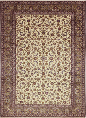 Solo Rugs Kashan M6085-21945  Area Rug