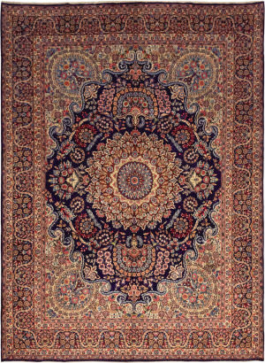 Solo Rugs Kashan M6085-21975  Area Rug