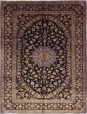 Solo Rugs Kashan M6085-21981  Area Rug