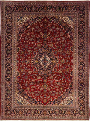 Solo Rugs Kashan M6085-21987  Area Rug