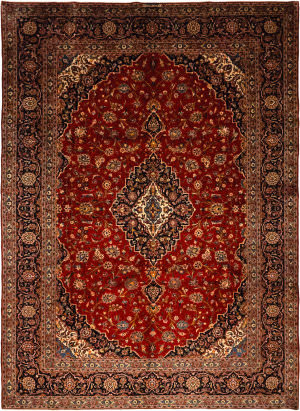 Solo Rugs Kashan M6085-21988  Area Rug
