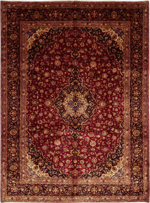 Solo Rugs Kashan M6085-21991  Area Rug