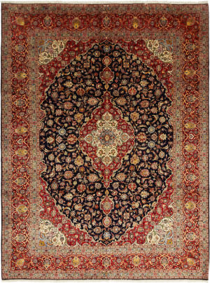 Solo Rugs Kashan M6085-22017  Area Rug