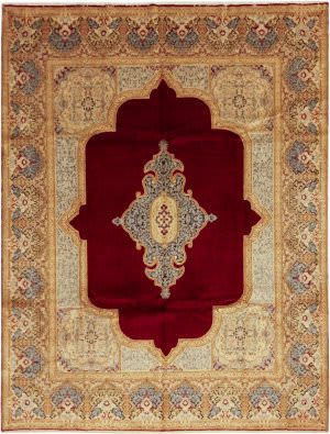 Solo Rugs Kerman M6085-22022  Area Rug