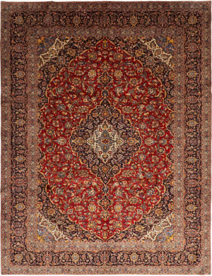 Solo Rugs Kashan M6085-22031  Area Rug