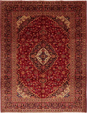 Solo Rugs Kashan M6085-22054  Area Rug