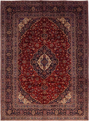 Solo Rugs Kashan M6085-22063  Area Rug