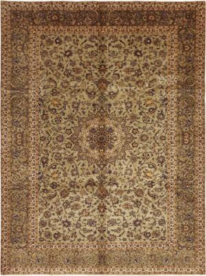 Solo Rugs Kashan M6085-22081  Area Rug