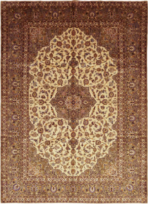 Solo Rugs Kashan M6085-22091  Area Rug