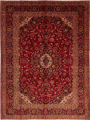 Solo Rugs Kashan M6085-22135  Area Rug