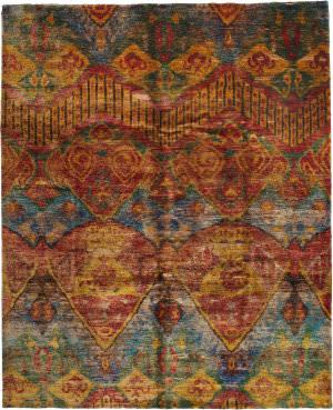 Solo Rugs Sari Silk 177946  Area Rug