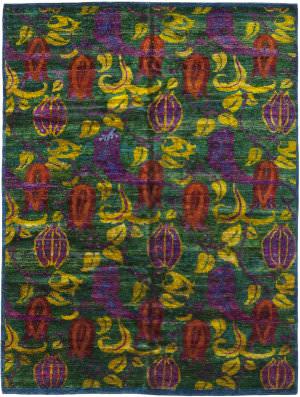 Solo Rugs Sari Silk M6403-1  Area Rug