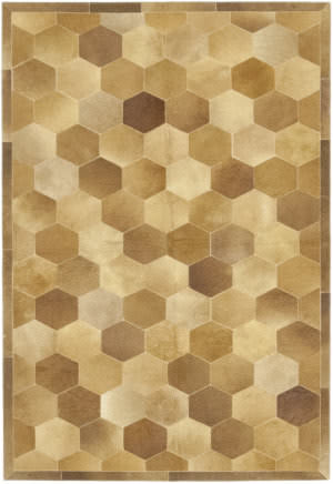 Solo Rugs Cowhide M6738-45  Area Rug