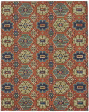 Solo Rugs Modern M7056-70  Area Rug