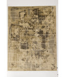 Solo Rugs Grit and Ground Atlas Beige Area Rug