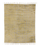 Solo Rugs Grit and Ground Boxy Shag Yellow - Gray Area Rug