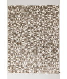 Solo Rugs Grit and Ground Cobble White Area Rug