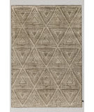 Solo Rugs Grit and Ground Giza Silver Area Rug