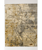 Solo Rugs Grit and Ground Gobi Beige Area Rug