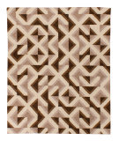 Solo Rugs Grit and Ground Harman Brown Area Rug