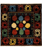 Solo Rugs Kaitag  4'9'' x 4'10'' Rug