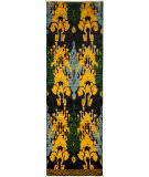 Solo Rugs Ikat  3'x9'7'' Runner Rug