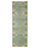 Solo Rugs Suzani  2'7'' x 8'3'' Runner Rug
