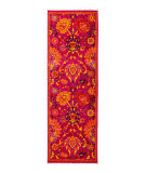 Solo Rugs Eclectic  2'8''x7'10'' Runner Rug
