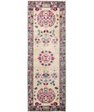 Solo Rugs Suzani  2'9'' x 8'1'' Runner Rug