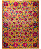Solo Rugs Floral  9'3'' x 12'1'' Rug
