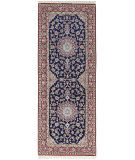 Solo Rugs Isfahan  2'9'' x 7'4'' Runner Rug