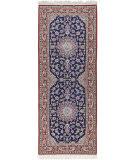 Solo Rugs Isfahan  2'9'' x 7'3'' Runner Rug
