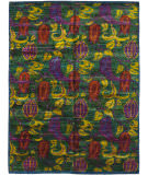 Solo Rugs Sari Silk  7'10'' x 10'4'' Rug