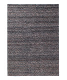 Solo Rugs Grit and Ground Pom Pom Diamond Navy Area Rug