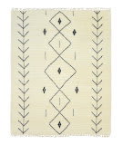 Luxor Lane Knotted Jam-S3054 Ivory Area Rug
