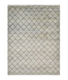 Luxor Lane Knotted Cle-S3145 Gray Area Rug