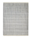 Luxor Lane Knotted Rob-S3147 Ivory Stripe Area Rug